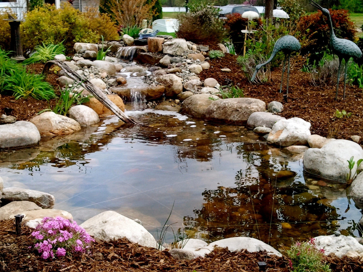 Call Big Boulder Pond for Milton, DE pond installations